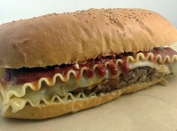 Behold The Lasagna Burger