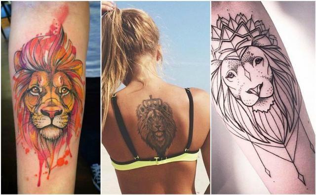 Tatuaże Dla Kobiet Z Pazurem Motyw Lwa Tatuaże Tatuaże