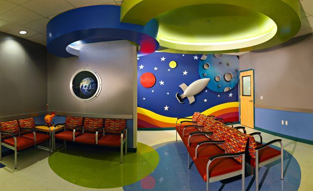 Lobby, Outpatient Lab, Valley Children's Healthcare ...