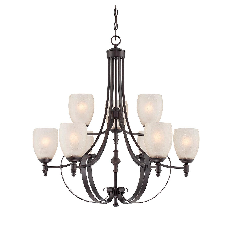 Savoy House 1622913 Duvall English Bronze 9 Light