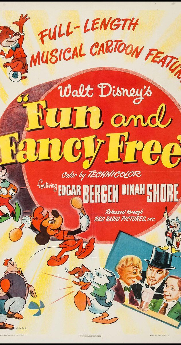 Fun & Fancy Free (1947) - IMDb | Disney Parade | Pinterest