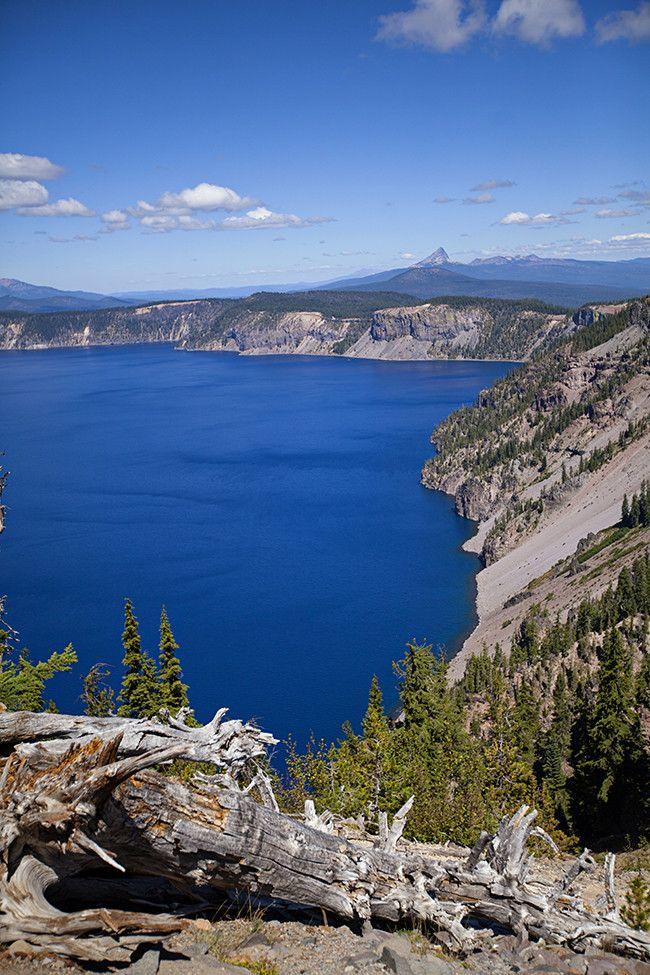 Crater Lake National Park, Oregon - Let Birds Fly