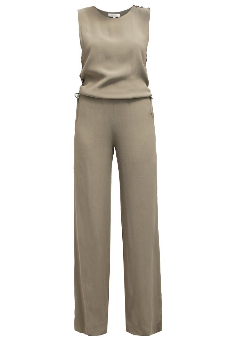 Intropia Jumpsuit - khaki - Zalando.co.uk