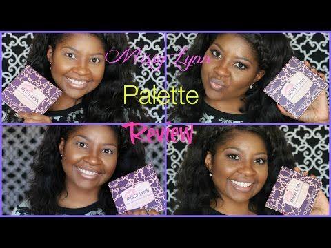 BH Cosmetics  Missy Lynn Palette Tutorial - YouTube