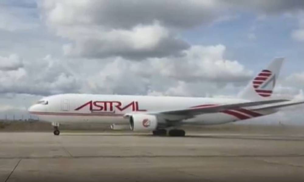 Atsg Delivers Boeing 767 200 Freighter To Astral Aviation In Nairobi In 2021 Boeing 767 Boeing Aviation