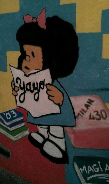 Mafalda (Quino) @Valencia, Spain