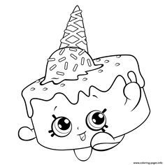 Print Ice Cream Coloring For Free Shopkins Season 5 Pages