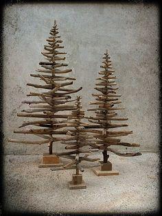 sapin-de-noel---arbre-de-noel--sapin-en-bois-flotte--boi ...