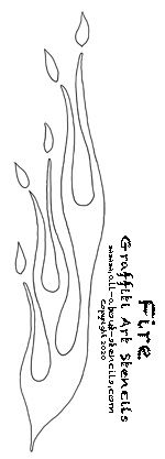 click here for graffiti font stencils