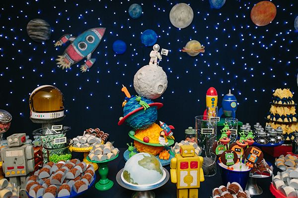 Pasteles Aniversarios Pictures To Pin On Pinterest: Aniversário Com Tema Espaço Sideral