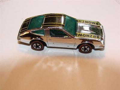 Old Mattel Redline Hot Wheels Super Chrome Chevy Monza Vintage Toy