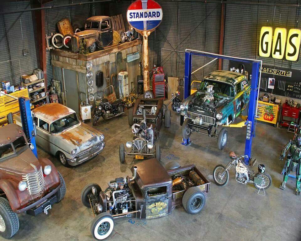 vintage garage diecast diorama pinterest maquettes garage et d co garage. Black Bedroom Furniture Sets. Home Design Ideas