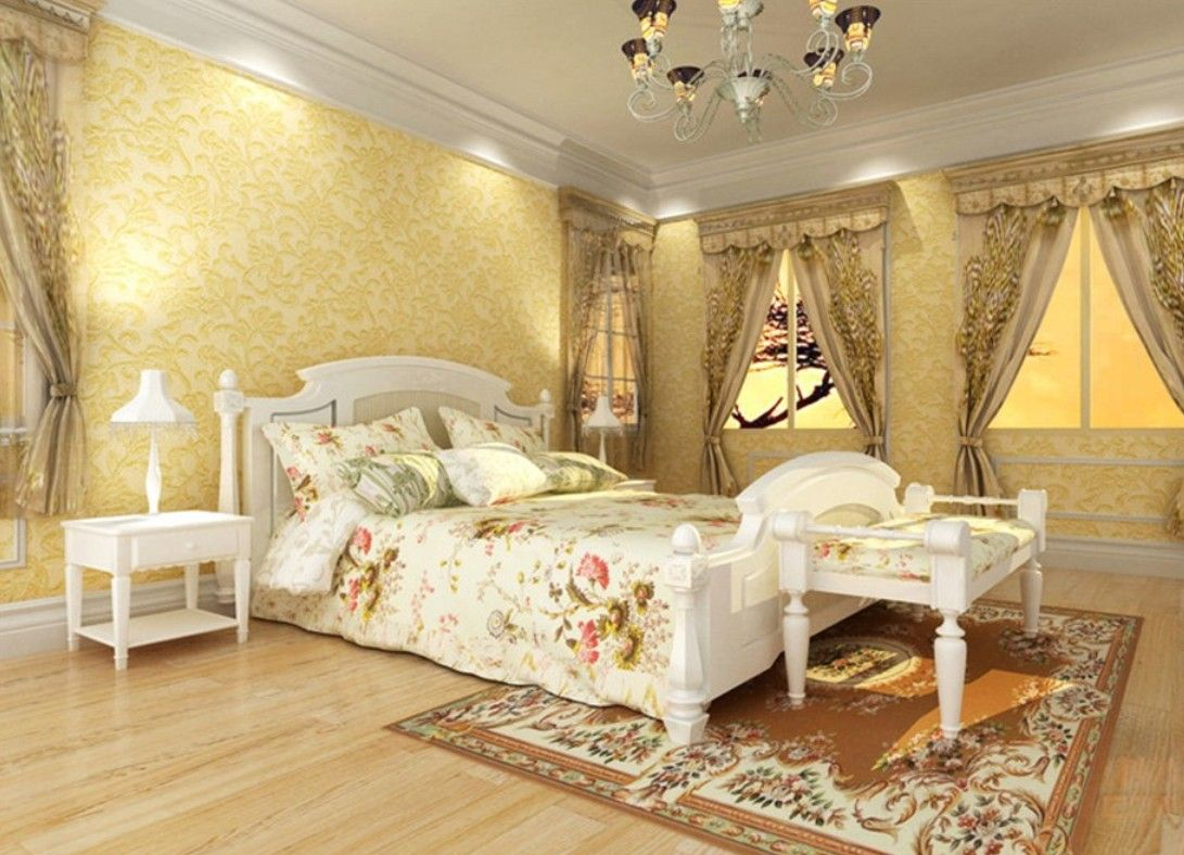 Bright Yellow Bedroom Walls on Bedrooms Ideas | Dream Home ...