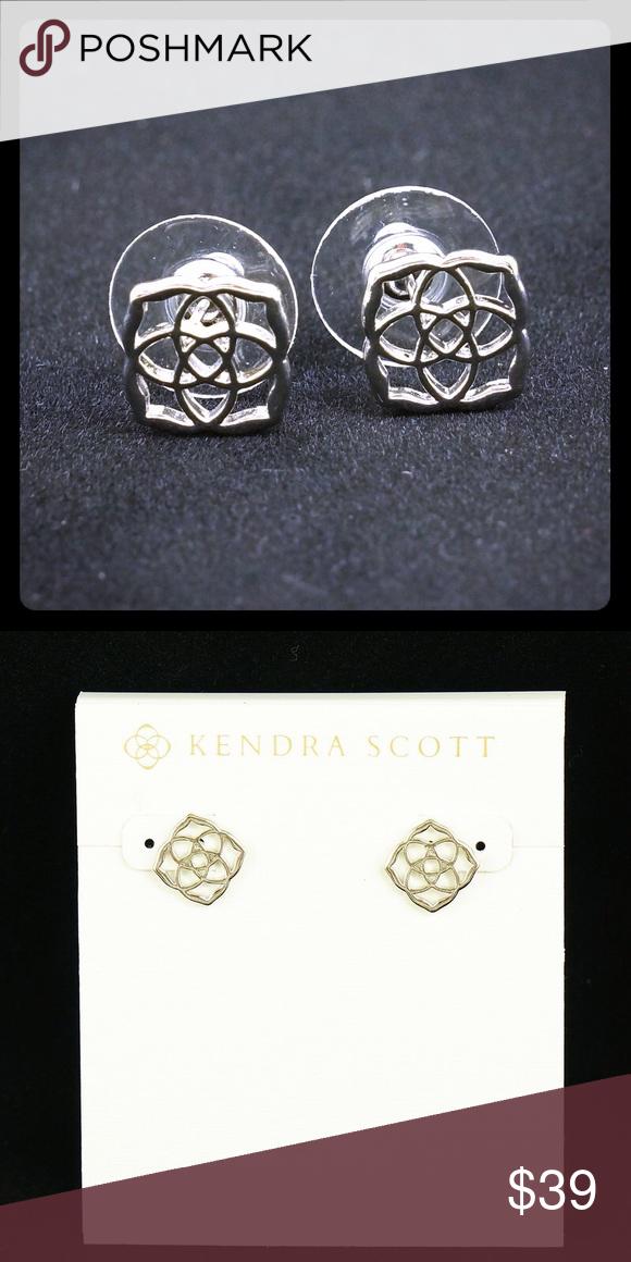 aabef5d7b Kendra Scott Dira stud earrings Silver Tone NWOT Kendra Scott Dira stud  earrings ○ Logo ○ Approx 0.5