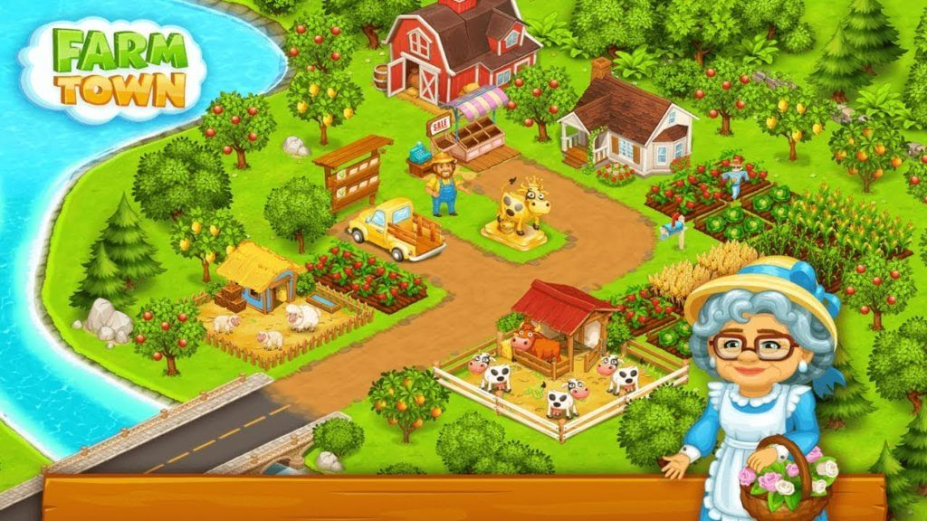 Farm Town Happy Farming Day [3.25] (MOD Unlimited Money