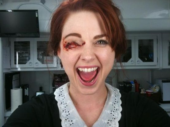 Moira After Being Shot In The Eye Ahs Costume American Horror