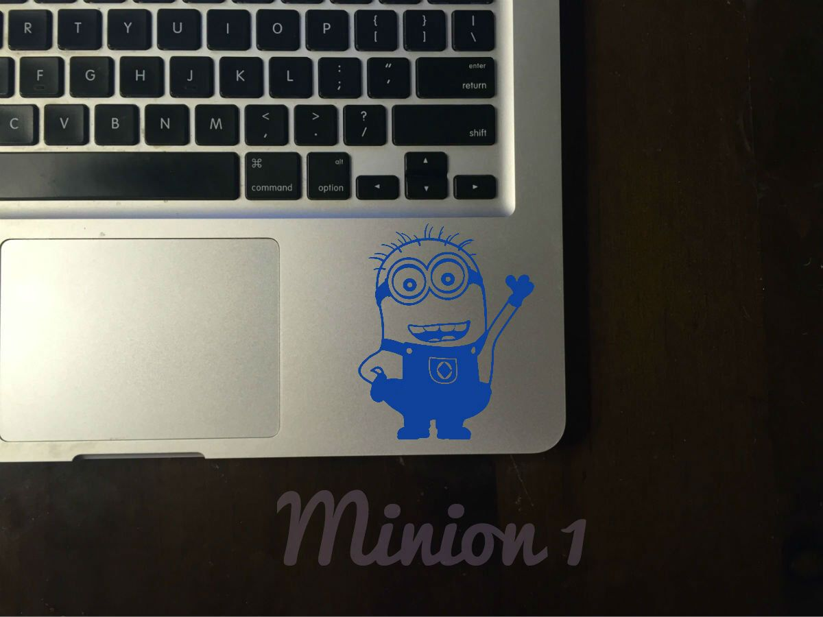 Minion Decal By ArtByElyssa On Etsy Httpswwwetsycomlisting - Custom vinyl decal application instructionsapplication etsy