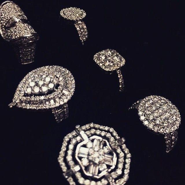Get your #bling on. #idealbrand #idealbrandmarketing #rings #diamond #jewelry #diamonds #dtla #sparkle #dazzle #tgif #glam #fashion #fashionista #gems #shop