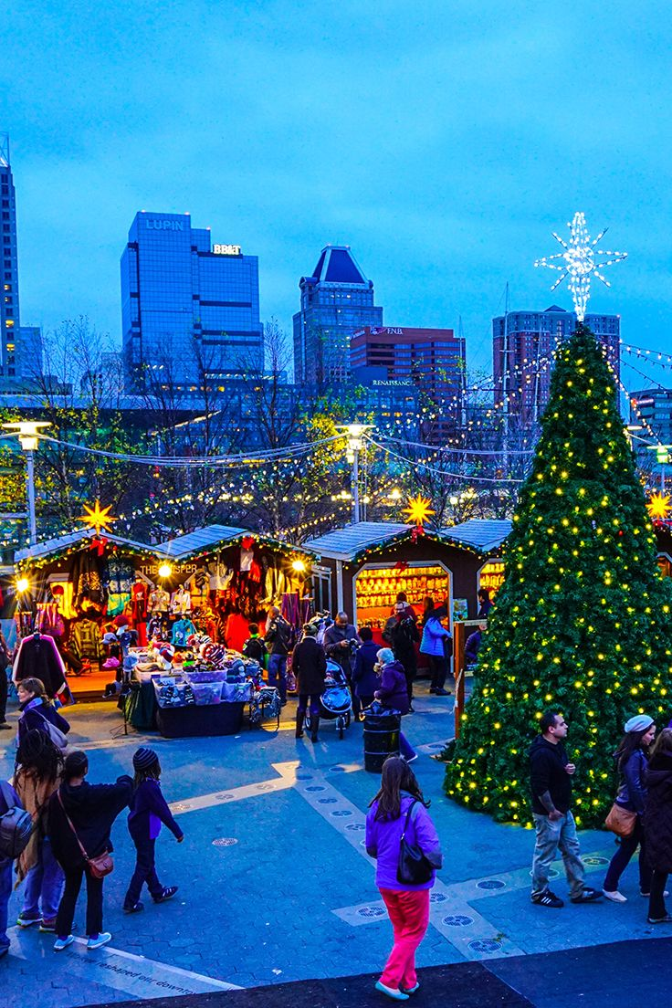 Christmas Village in Baltimore is modeled after traditional German ...
