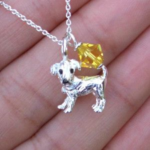 Dog Lover Necklace | www.cutestjewelry.com | starting at $32