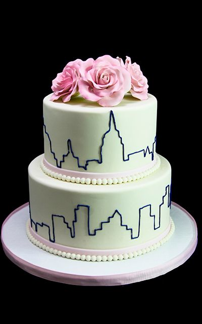 New york skyline roses wedding cake butterfly bake shop in new new york skyline roses wedding cake butterfly bake shop in new junglespirit