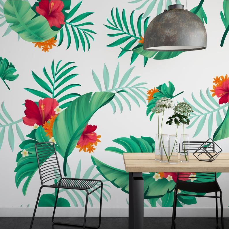 Removable Wallpaper Peel And Stick Peel And Stick Wallpaper Kids Floral Peel And Stick Wallpape Family Rules Wall Art Nursery Wall Decals Removable Wallpaper