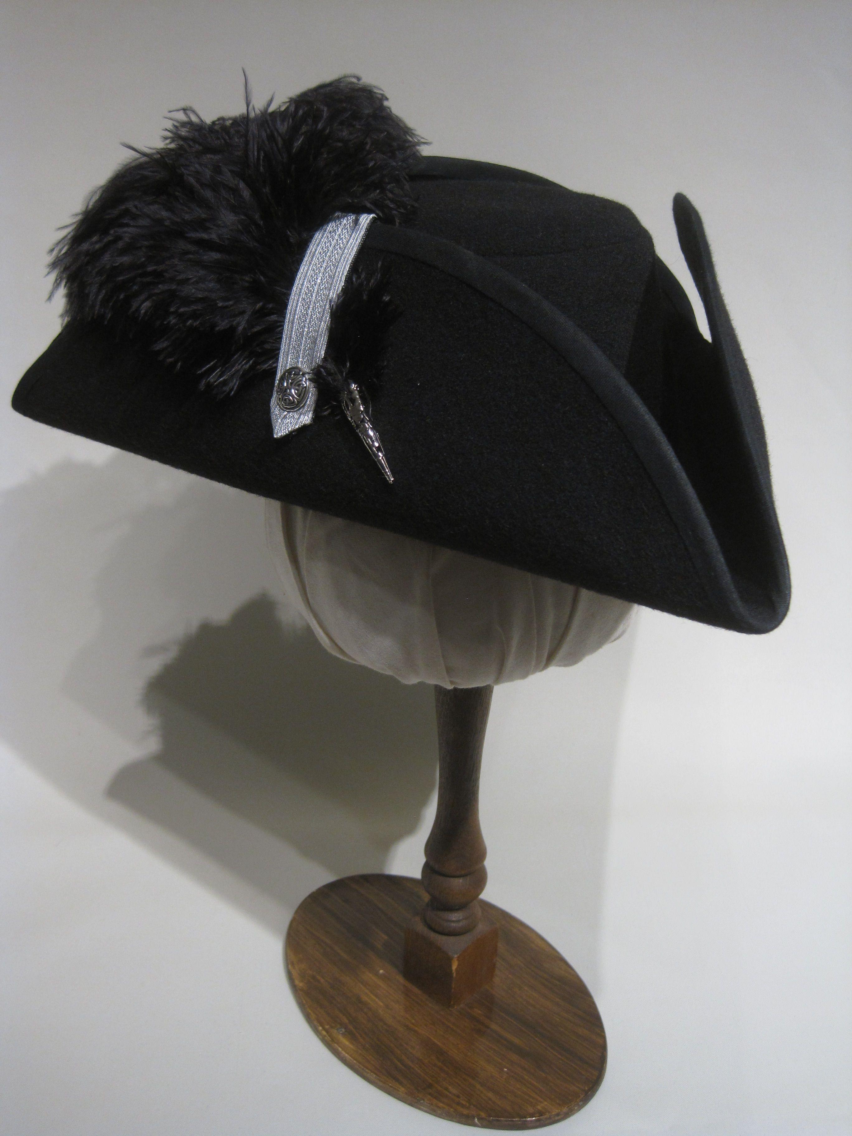 Barocker Dreispitz De Luxe 54 64cm 15 Farben Wolle Historischer