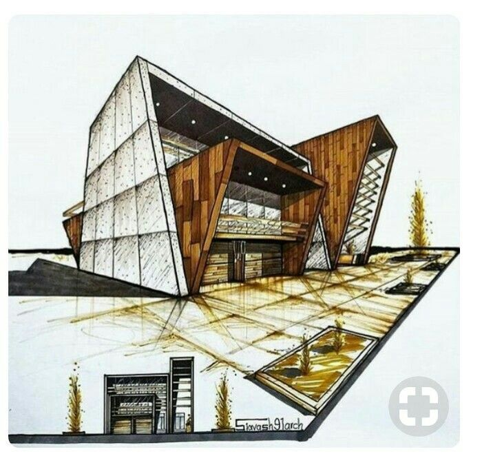 Architectural Sketches - Dress Models -  -
