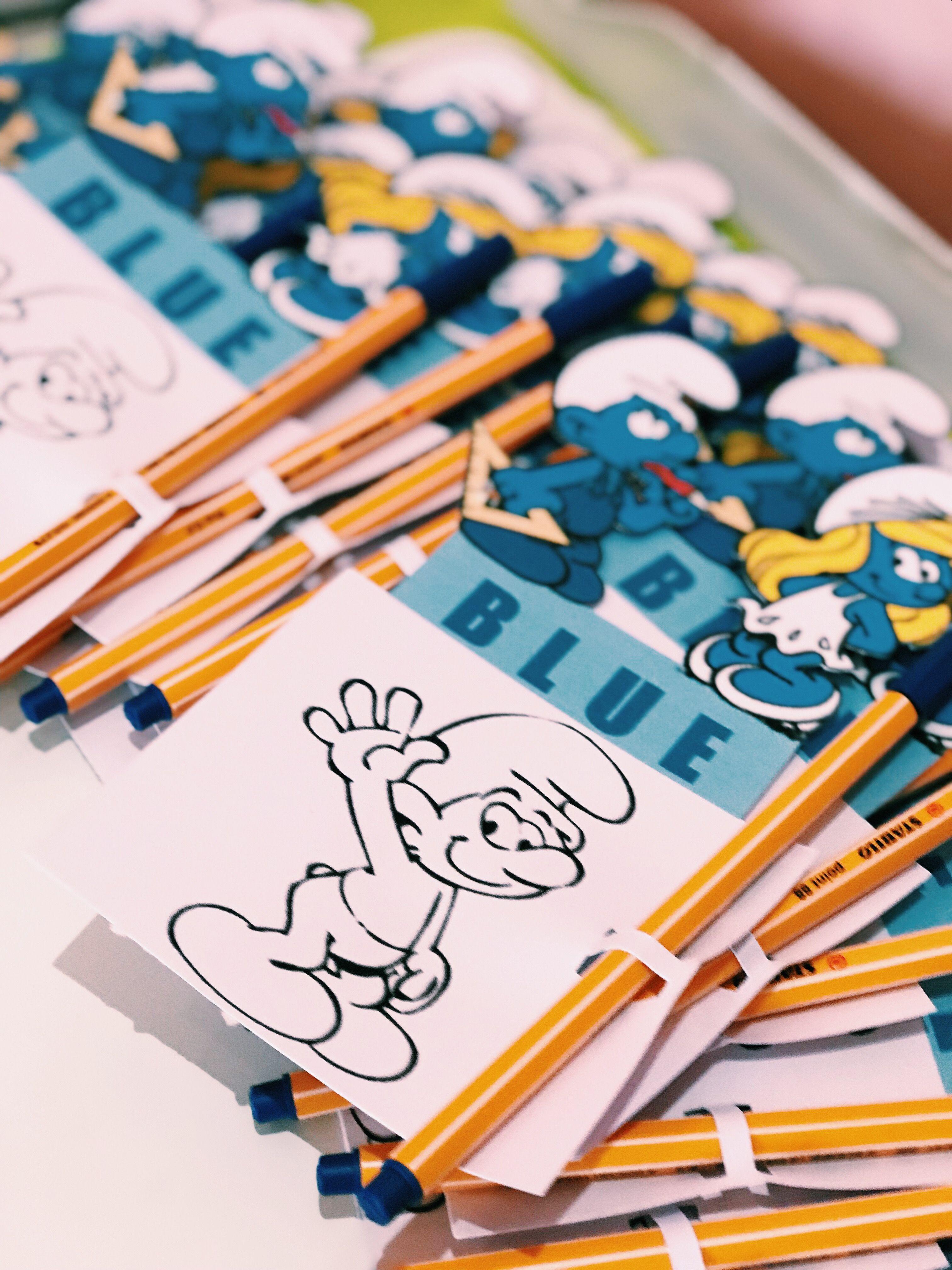 Give Away For Blueday At School توزيعات للمدرسة لطلاب الروضة اليوم الأزرق Kindergarten Activities Toddler Girl Style Senses Preschool