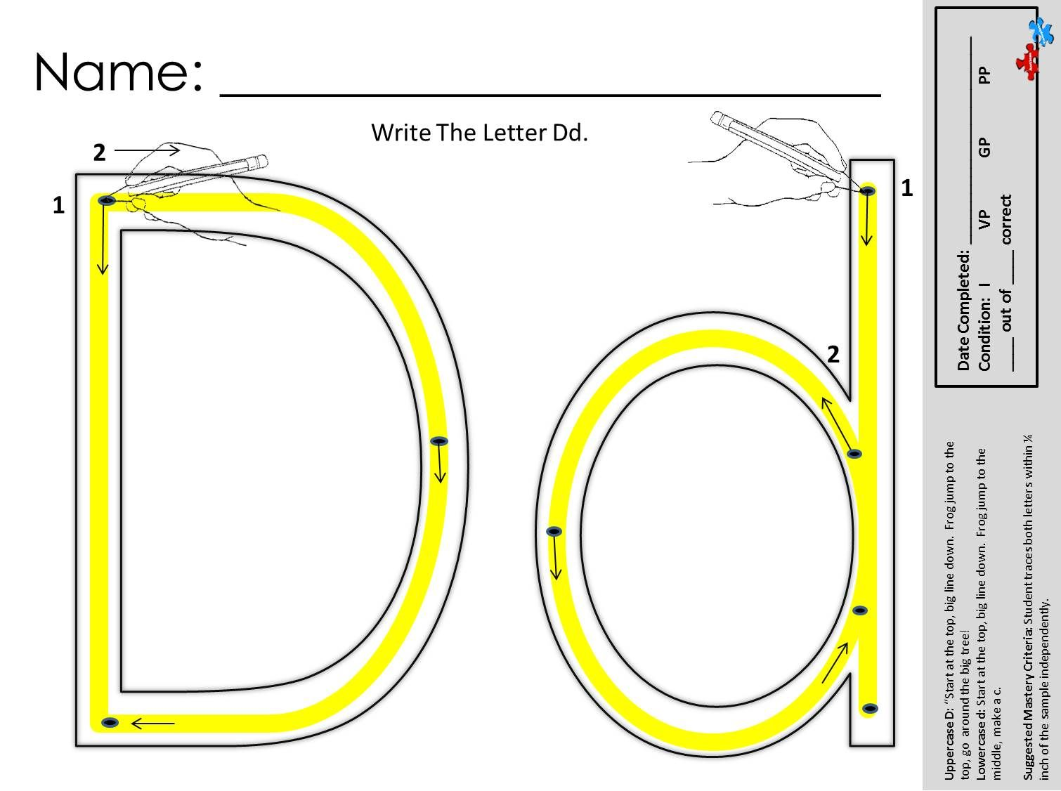 Find This And Other Great Free Printable Handwriting Works