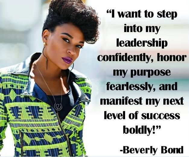 """""""I want to step into my leadership confidently..."""" 