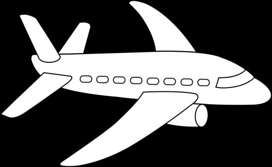 20+ Aeroplane Clipart Black And White