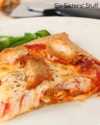 Six Sister S Stuff Chicken Parmesan Pizza Recipe Ya Ll Know We