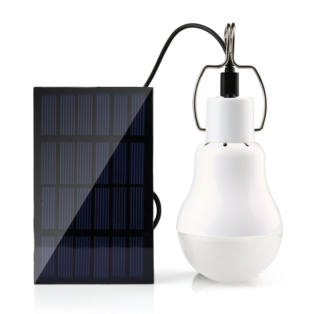 Solar Panel Camp Tent Nachtangeln Licht Solarenergie Lampe Led ...