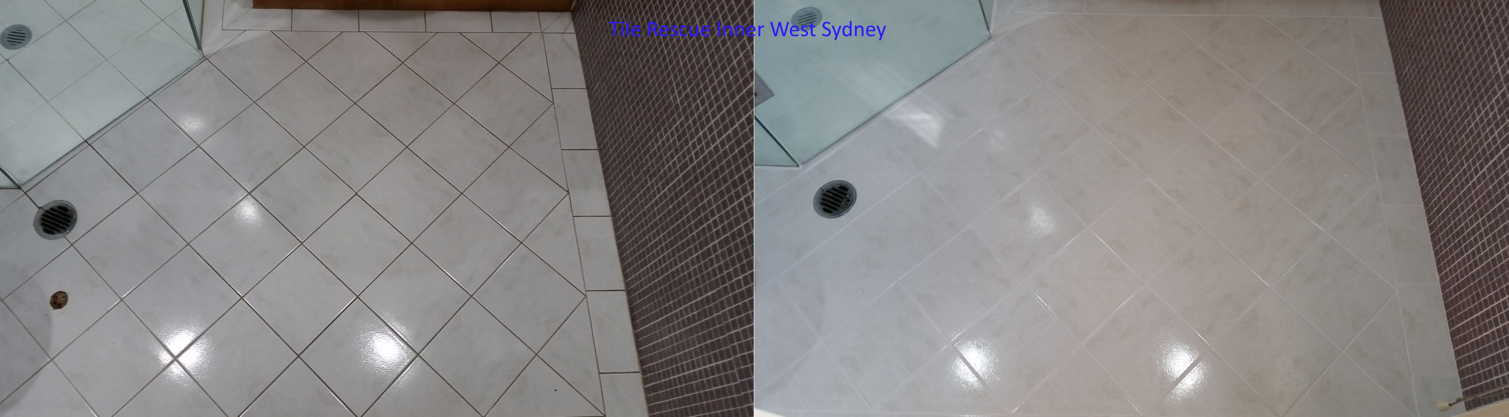 tile rescue inner west sydney bathroom floor cle tile rescue rh pinterest com