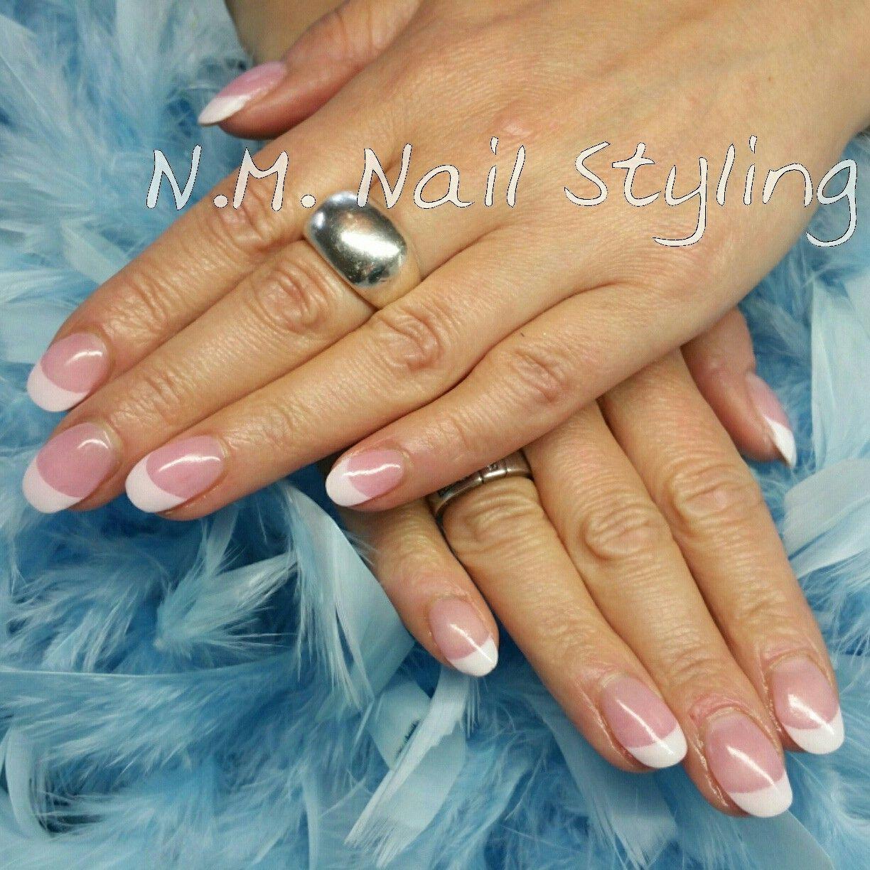 Kiara Sky dip powder french manicure - N.M. Nail Styling | Pinterest