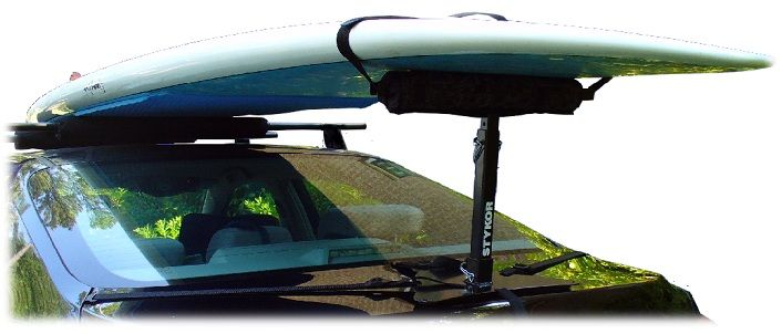 The Tadpole Extended Paddleboard Rack Trunk Rack