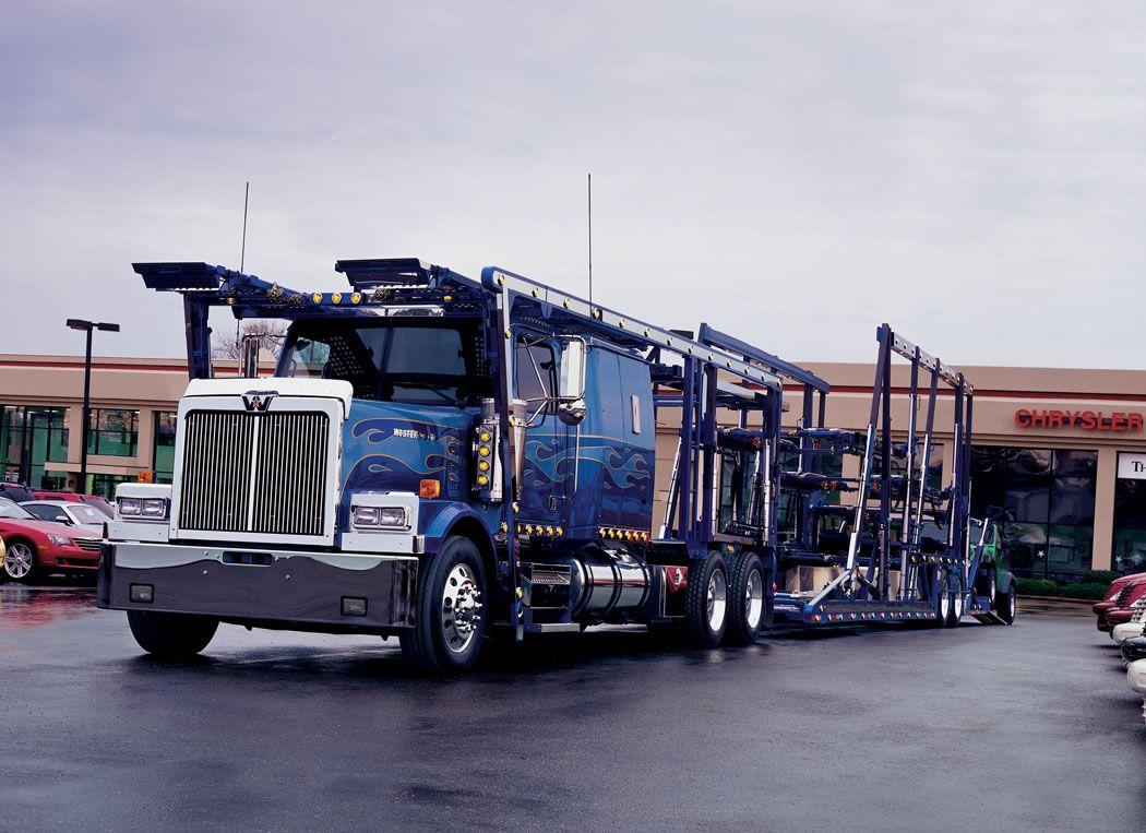 Western Star 4900 Car Hauler Heavyhauling Western Star Trucks