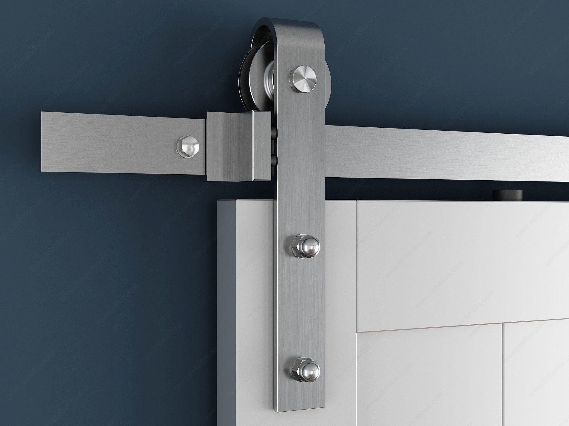 Robuste Stainless Steel Barn Door Hardware One Of Many Modern