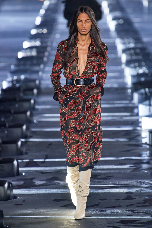 Black Fashion Designers 2020.Saint Laurent Spring 2020 Ready To Wear Fashion Show In 2019