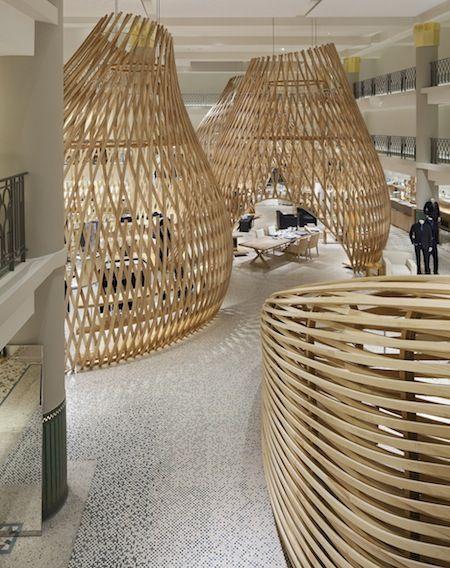 Boutique Hermes Rive Gauche Par Rdai Architecture Architecture Interieure Agence Architecture