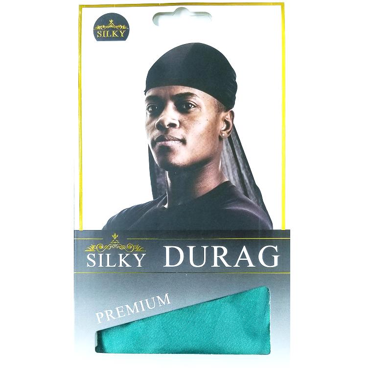 Silky Durag Green Salon Supplies Barber Salon Silky