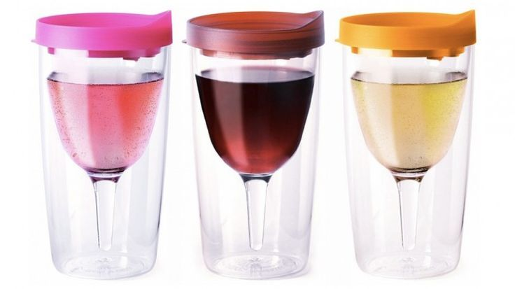 Classy: Wine Glass Sippy Cup - OhGizmo! #Technology