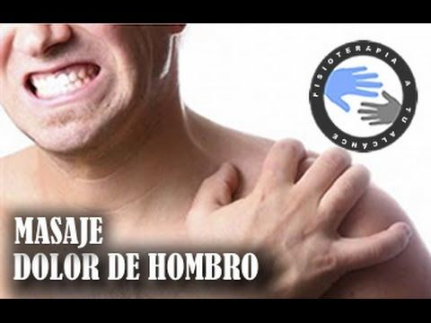 Masaje para el dolor de hombro o tendinitis / Fisioterapia..