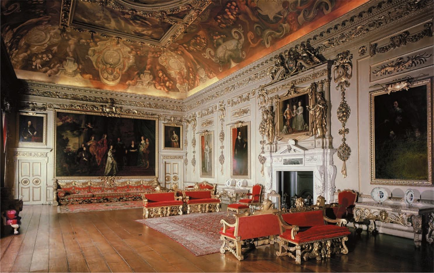 Innenarchitektur Renaissance decorative detailing was a big feature in renaissance interiors