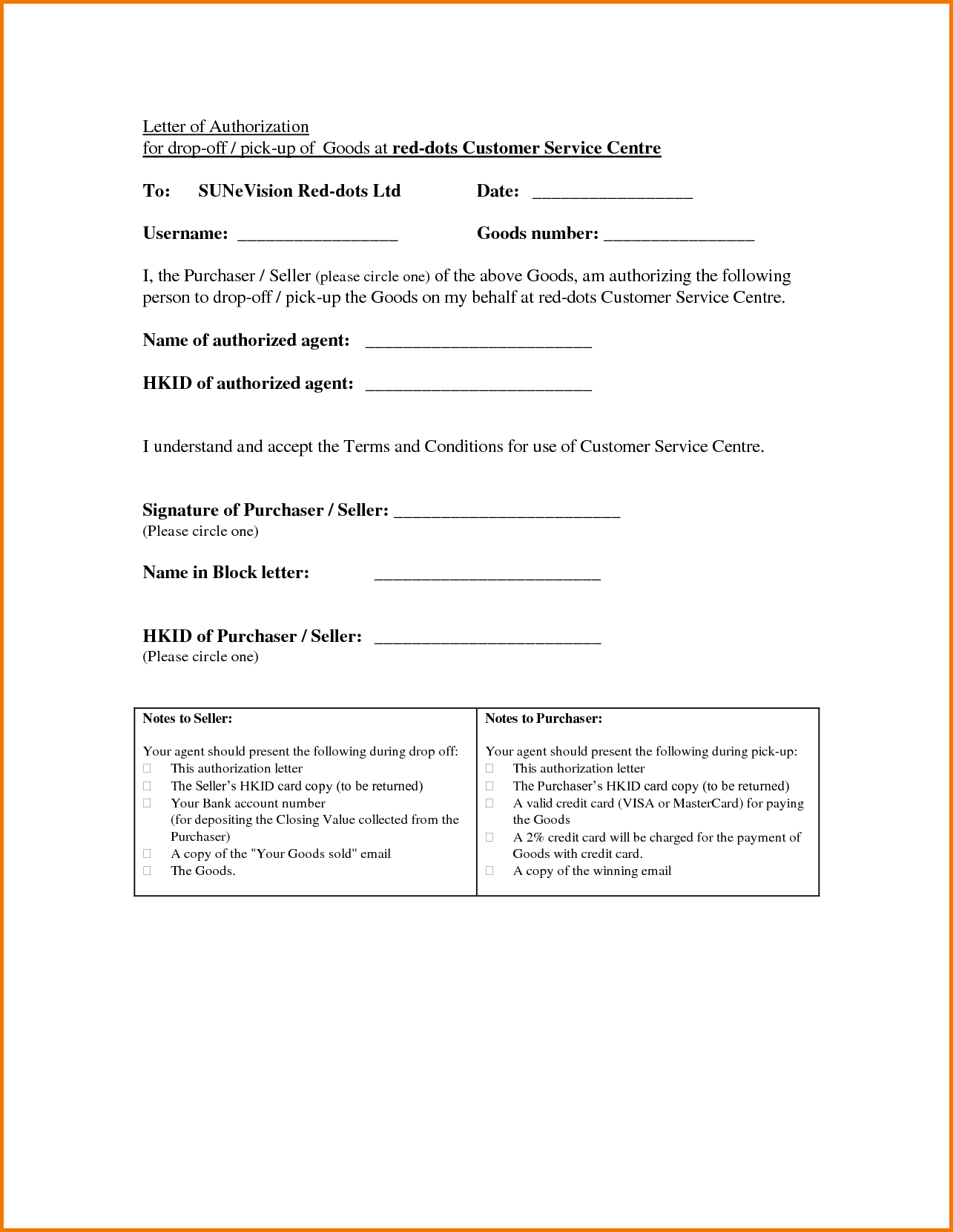 Authorization Letter Pick Passport Pdf Format For Sample Examples