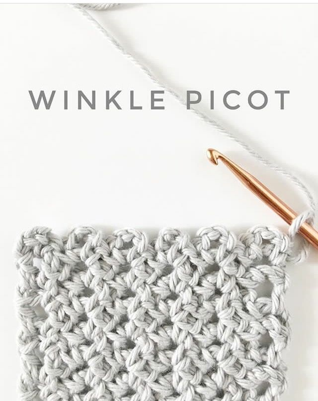 Winkle Picot - Daisy Farm Crafts | Tejido | Pinterest | Tejido y ...