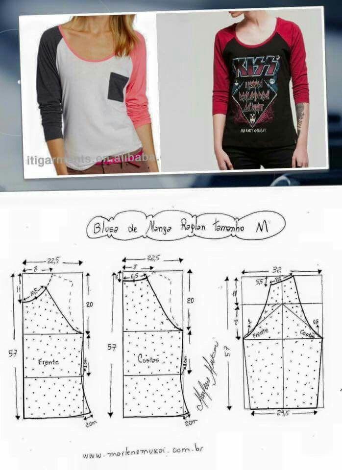 Pin von Marleny Diaz auf sewing,EMBROIDERY & patterns | Pinterest