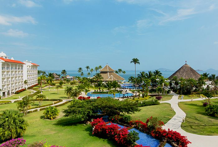 The lush paradise of Secrets Playa Bonita Panama Resort & Spa.