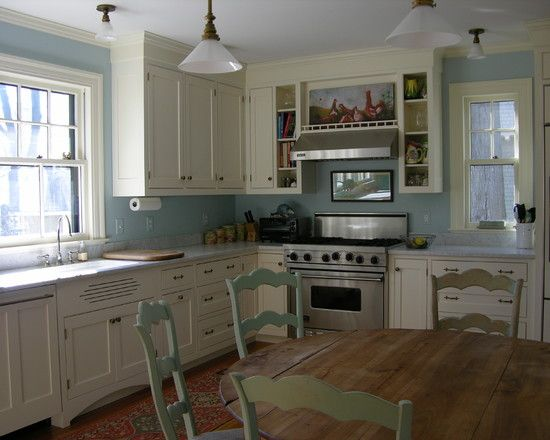 Robins Egg Blue Kitchen Would Be Great Its An Old Farmhouse Look For